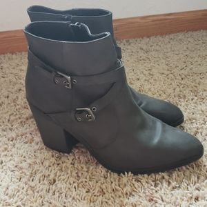 Gray Faded Glory Boots